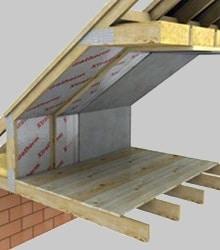 plaques isolation toiture conseil isolation pour toit plancher combles. Black Bedroom Furniture Sets. Home Design Ideas