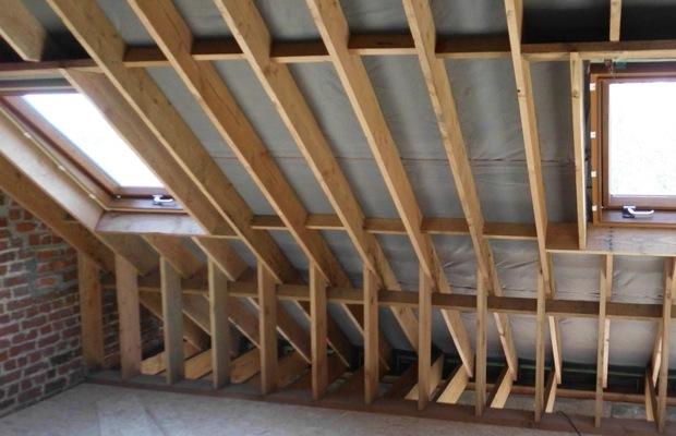 Isoler toiture chevrons