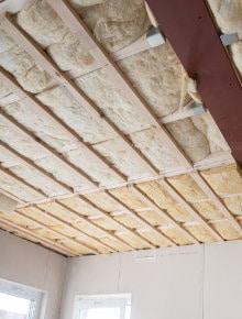 isoler toit plat par interieur